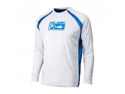PELAGIC Sideline Performance Shirt - White