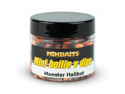 MIKBAITS Mini boilie v dipu 50ml - monster halibut
