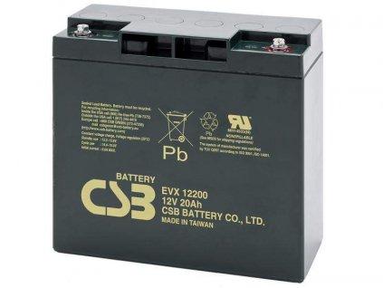 CSB 12V 20Ah olověný akumulátor DeepCycle AGM M5