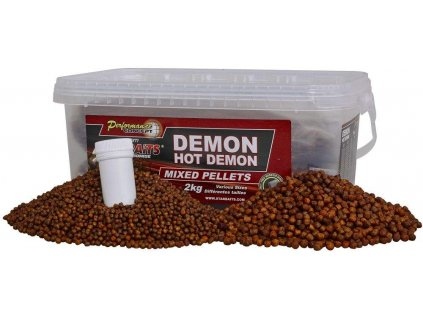 STARBAITS Hot Demon Pelety Mix 2kg