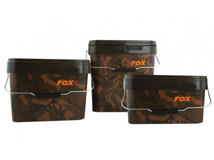 FOX Camo Square Buckets - 10l