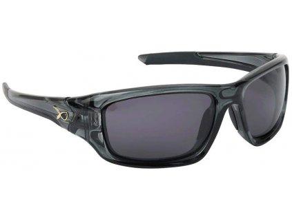 FOX Sunglasses Wraps trans black/grey
