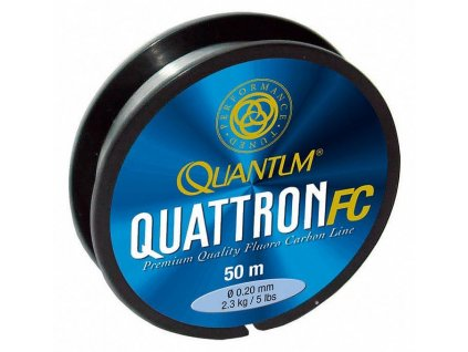 Rybářský vlasec Quantum Quattron Fluorocarbon 50m
