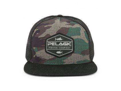 PELAGIC Alpha Snapback – Fish Camo