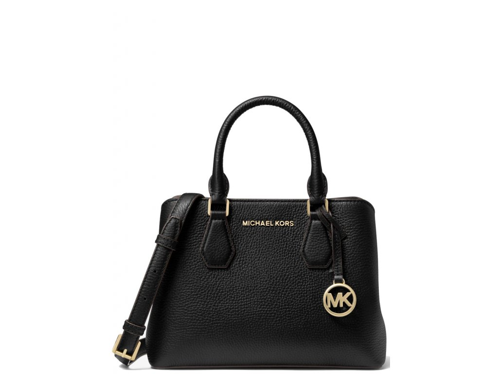 Camille Small Pebbled Leather Satchel