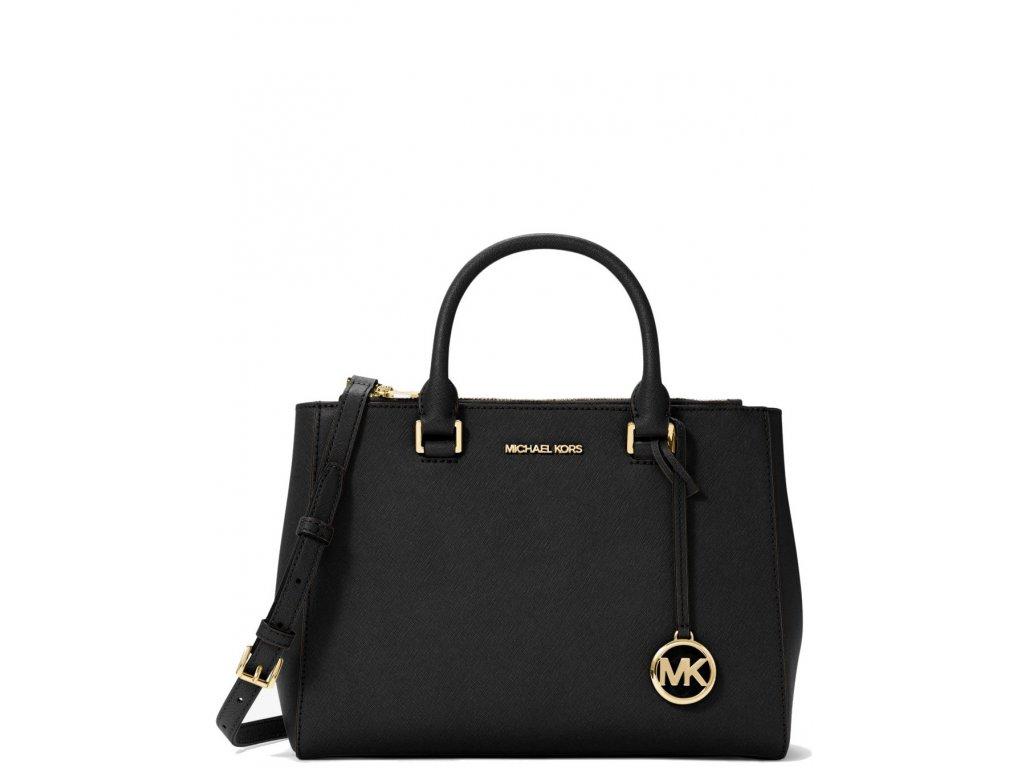 Kellen Medium Leather Black Gold3