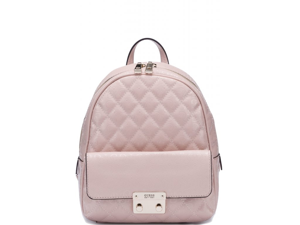 GUESS Tiggy Bowery Backpack Blush