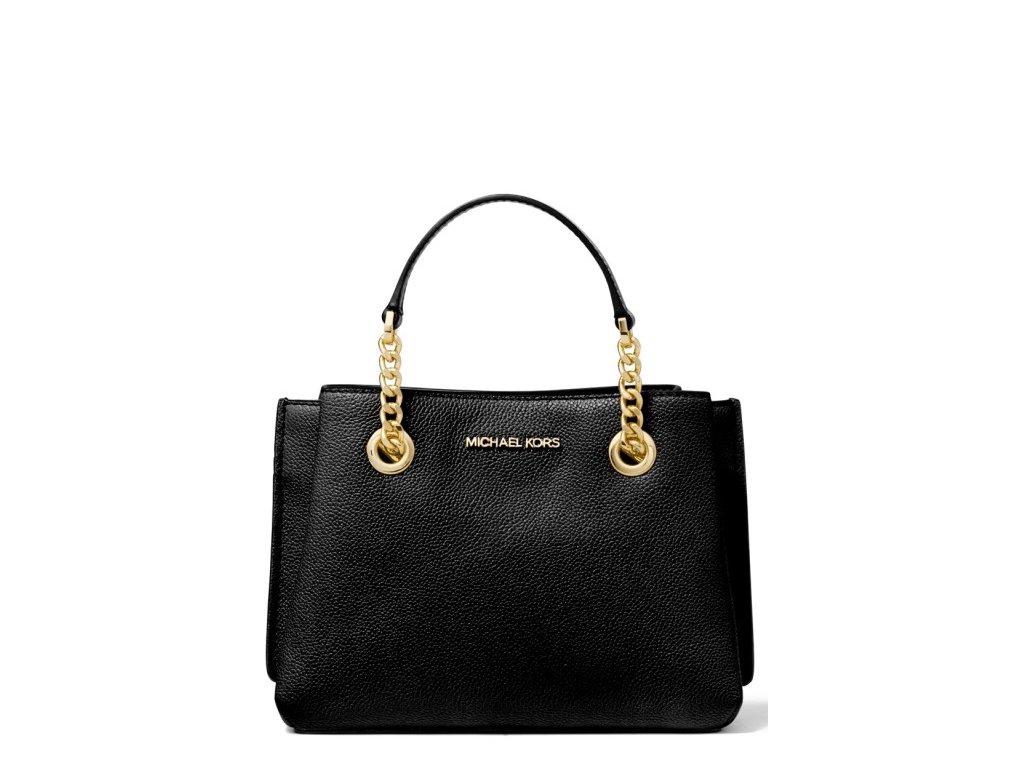 Michael Kors Teagan Small Messenger Bag Black