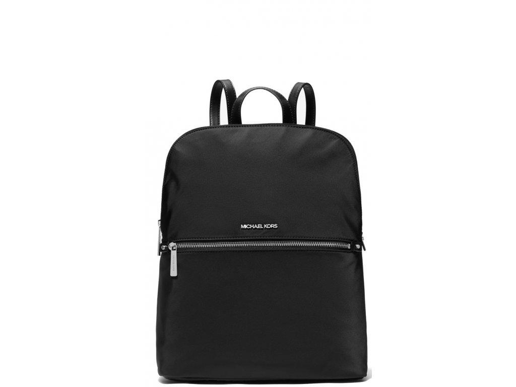 Michael Kors Polly Medium Nylon Backpack Black