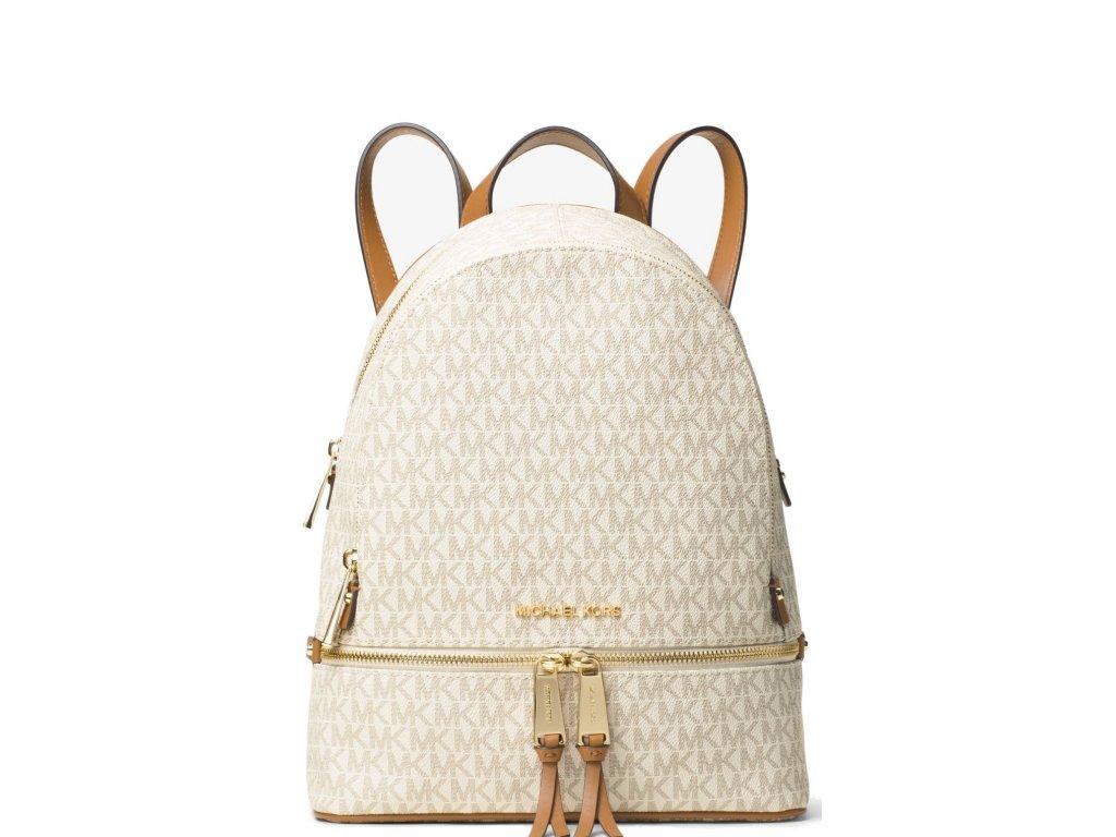 Michael Kors Rhea Medium Backpack Vanilla