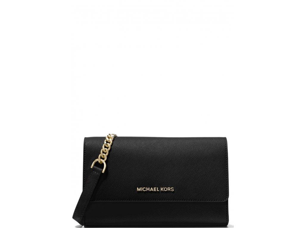 Michael Kors Saffiano Leather 3 in 1 Crossbody Black