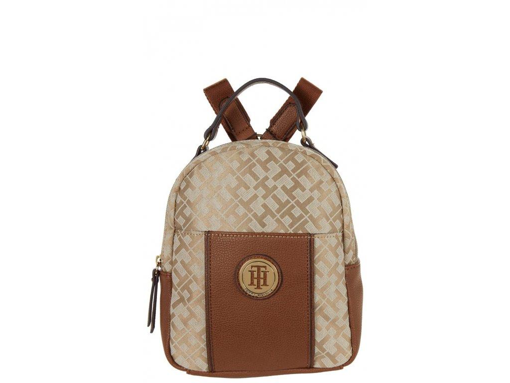 Tommy Hilfiger Roxy II Mini Backpack Geometric Jacquard