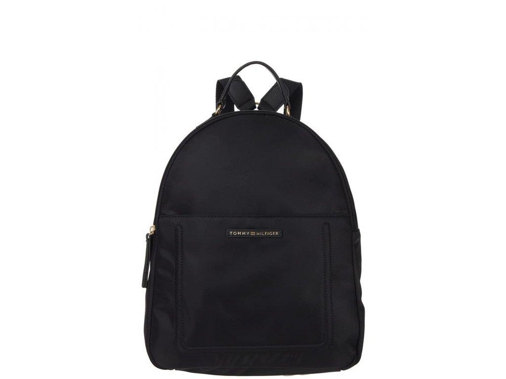 Tommy Hilfiger Linda II Medium Backpack Nylon Black