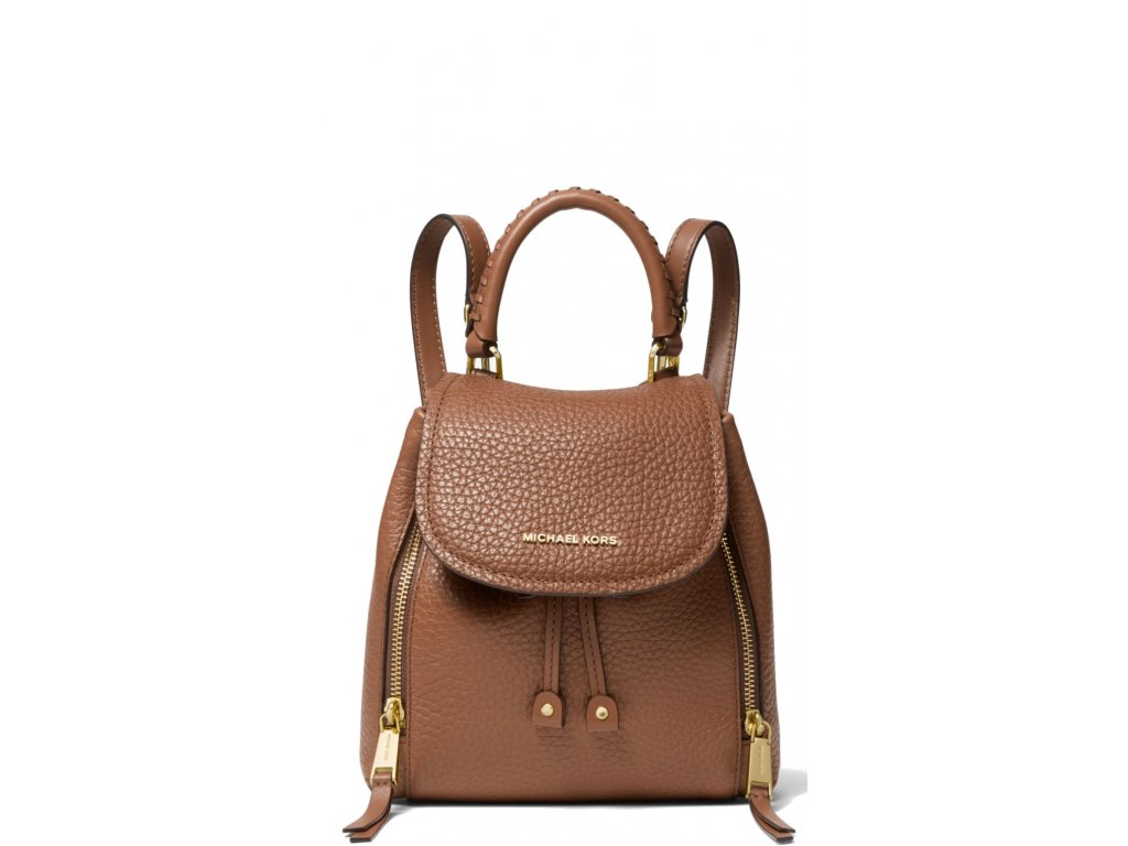 Michael Kors Viv Extra Small Pebbled Leather Backpack Luggage