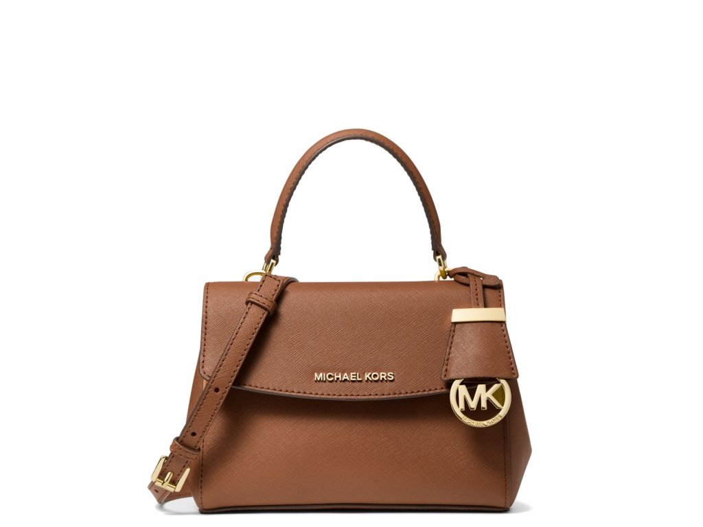 Michael Kors Rayne Medium Saffiano Leather Satchel Luggagea