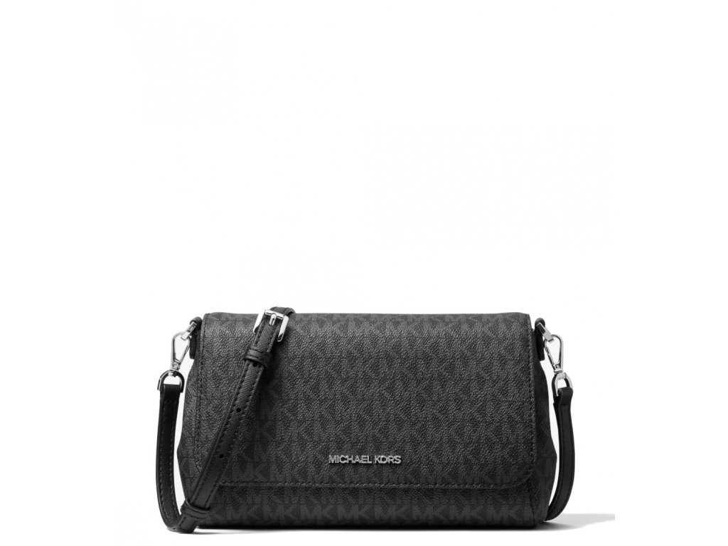 Michael Kors Medium Logo Convertible Crossbody Bag Blacka