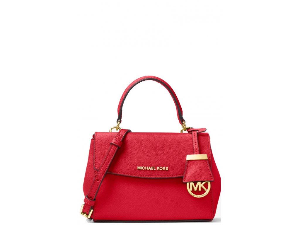 Michael Kors Ava Extra Small Crossbody Bag Bright Redaa