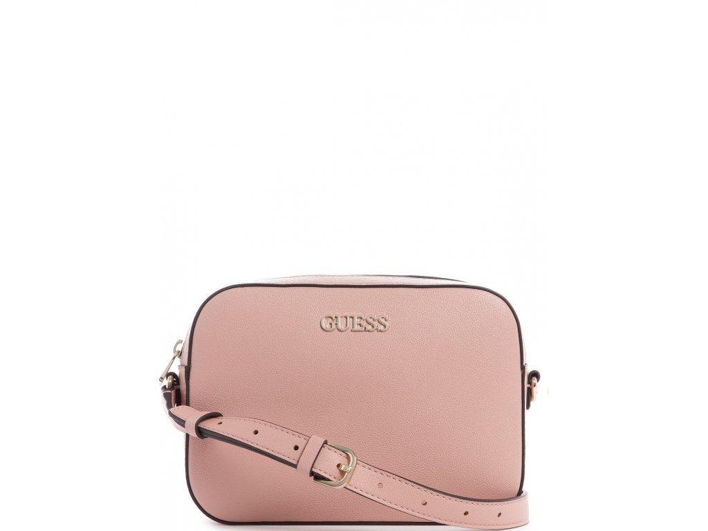 GUESS Utility Vibe Crossbody Top Zip Light Pink