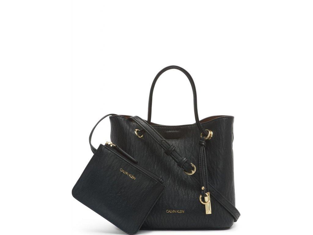 Calvin Klein Gabrianna Crossbody Black Gold