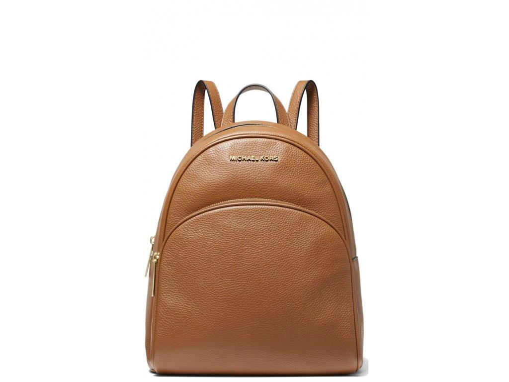 Michael Kors Abbey Medium Pebbled Leather Backpack Luggage