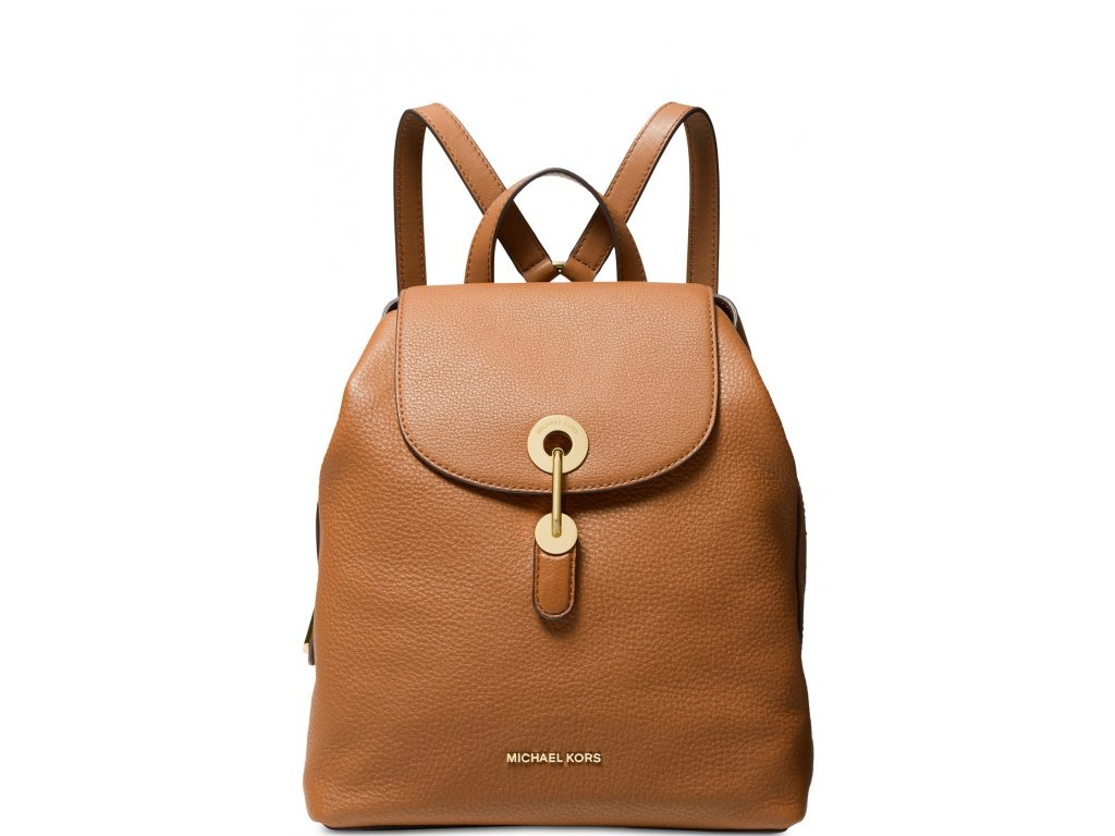 Raven Leather Backpack Acorn