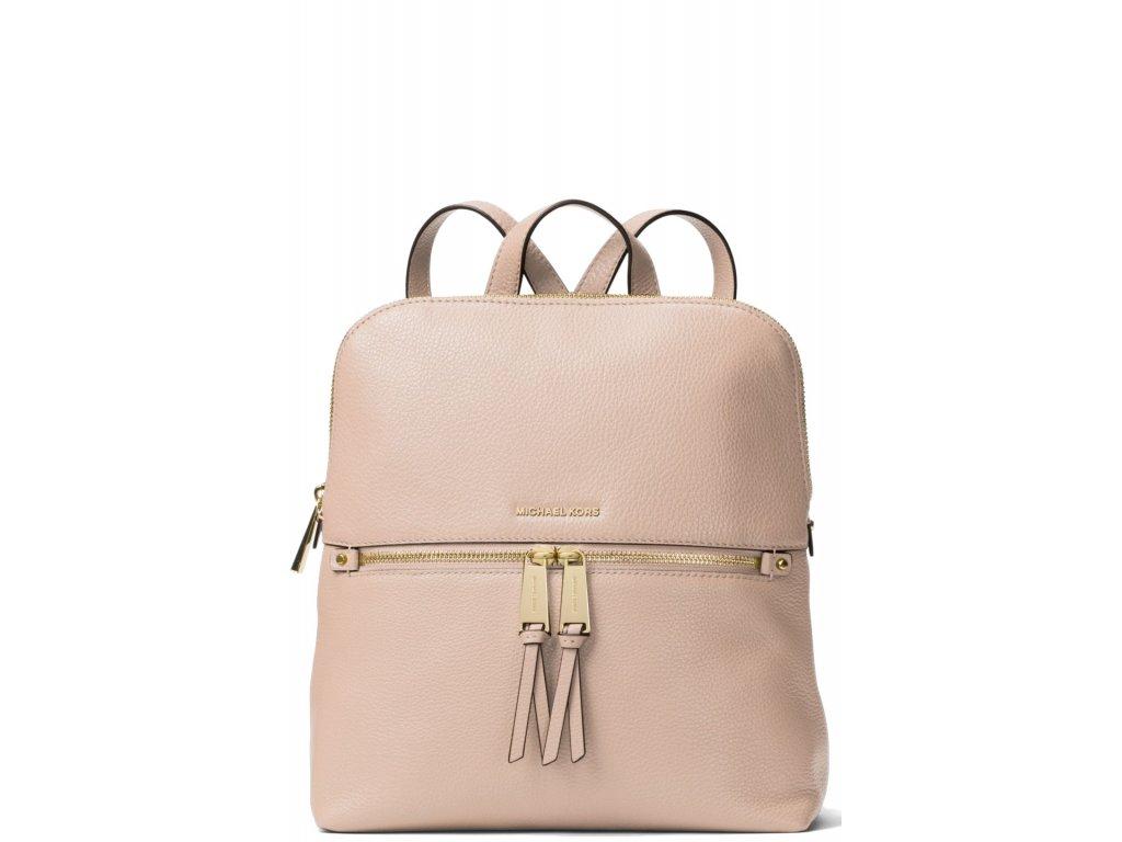 Michael Kors Batoh Rhea Medium Slim Backpack Soft Pink