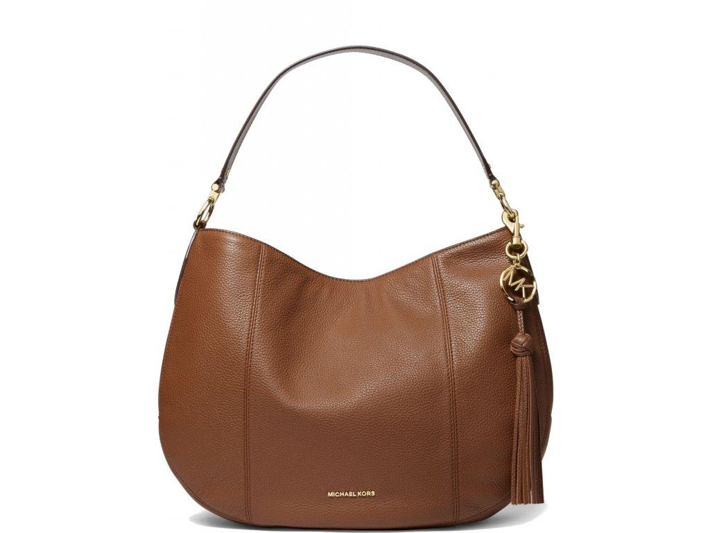 Brooke Large Pebbled Leather Shoulder BagLuggage