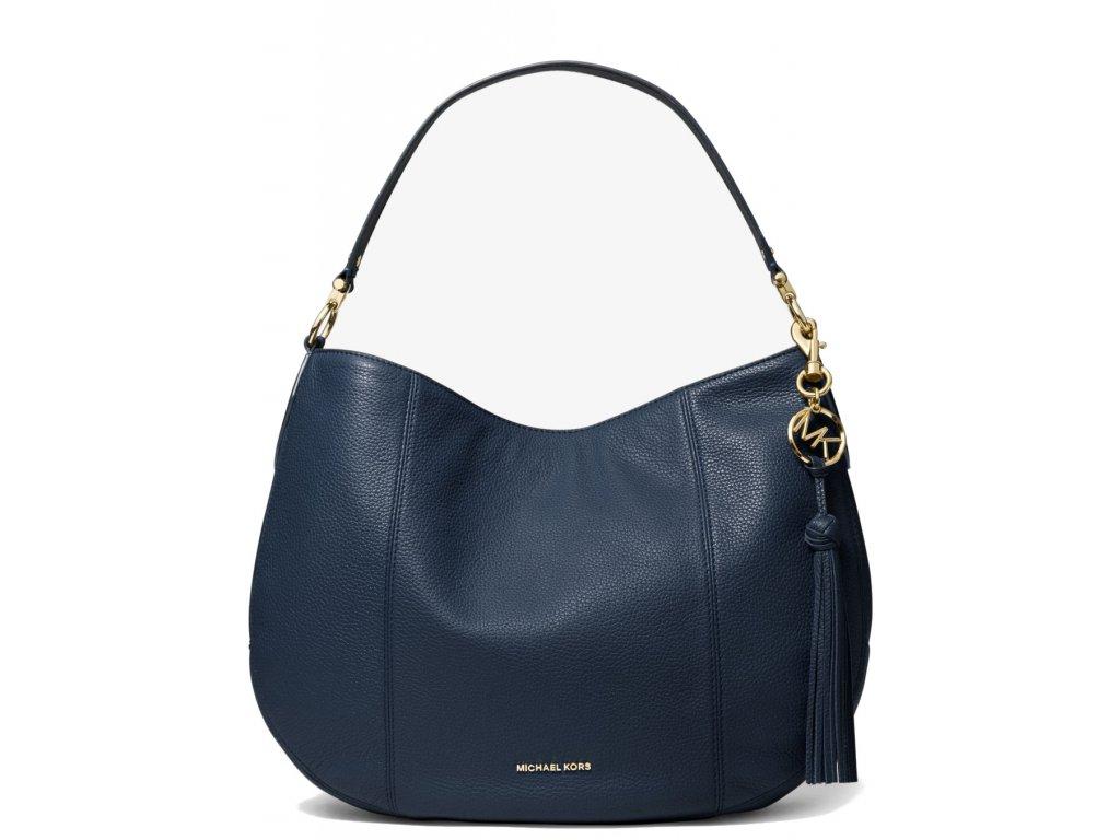 Brooke Large Pebbled Leather Shoulder Bag