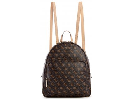 GUESS Rylan Backpack Brown Gold
