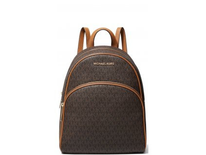 Abbey Medium Logo Backpack Brown Acorn