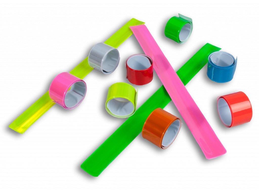 Reflexní pásky na kočárek