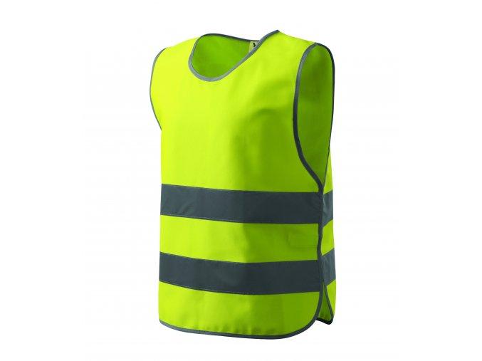 Dětská bezpečnostní vesta vel.S/M žlutá