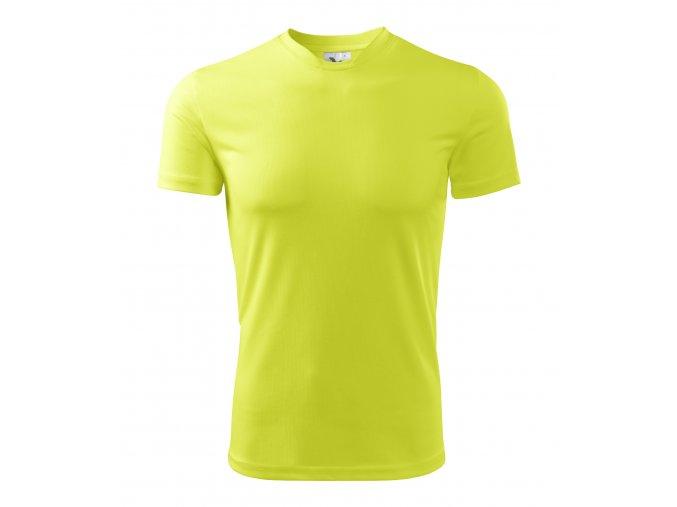 Dámské/pánské reflexní tričko velikost L