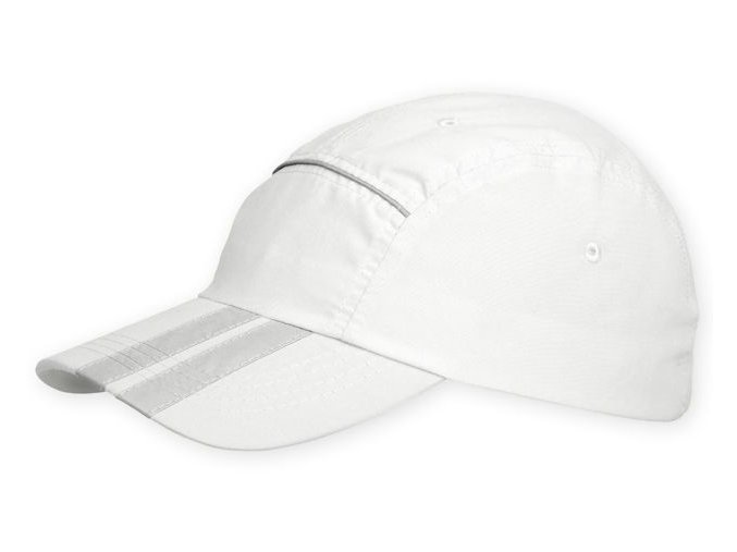 Reflexní kšiltovka - bílá