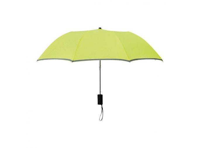 Reflexní deštník - žlutý