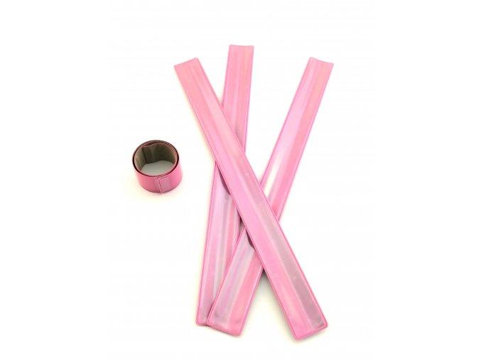 3M Reflexní samonavíjecí pásky - RŮŽOVÁ