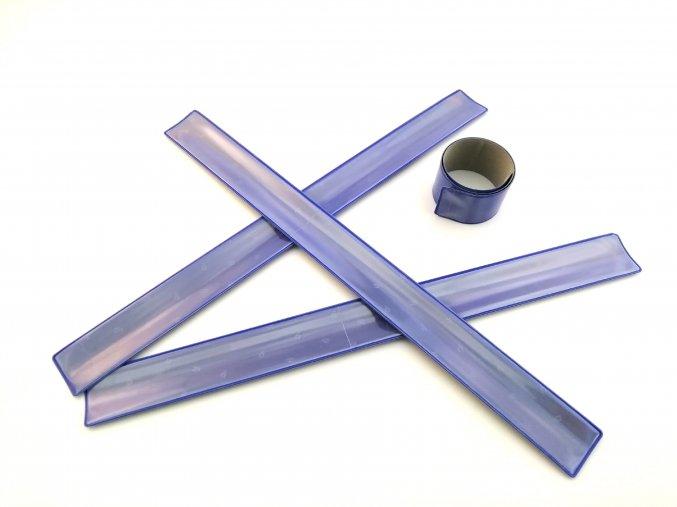 3M Reflexní samonavíjecí pásky - MODRÁ