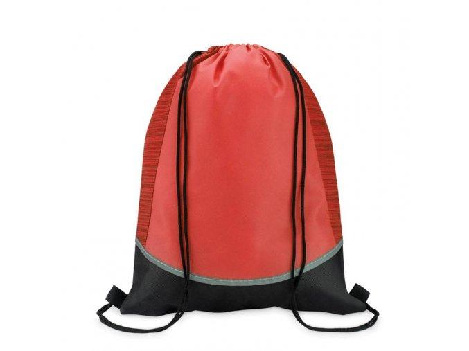 Reflexní batoh -ČERVENÝ
