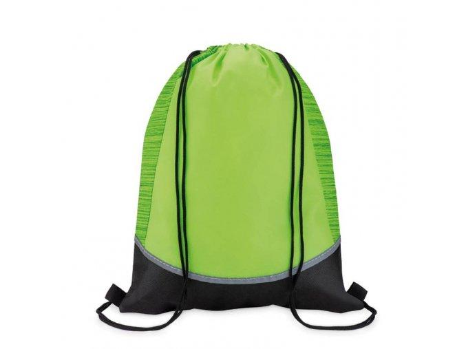 Reflexní batoh -ZELENÝ