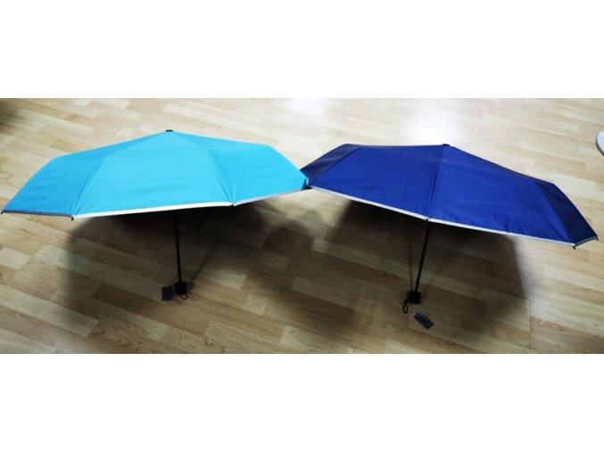 Reflexní 3M scotchlite deštník - světle modrý