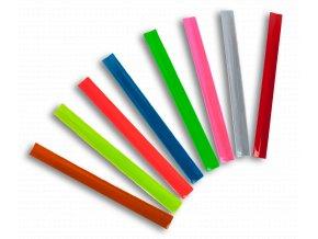 Reflexní samonavíjecí pásky - RŮŽOVÁ