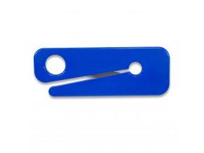 řezačka, nůž  modrý