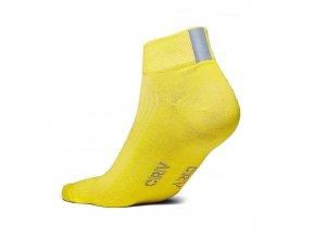 Reflexní ponožky - ŽLUTÉ