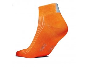 Reflexní ponožky - ORANŽOVÉ