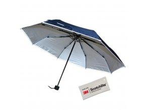 Reflexní 3M scotchlite deštník - MODRÝ