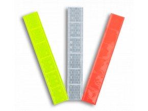 Reflexní samolepící pásky 3x15cm