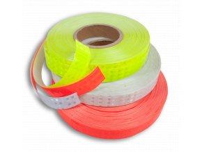 Reflexní samolepící páska -  červená