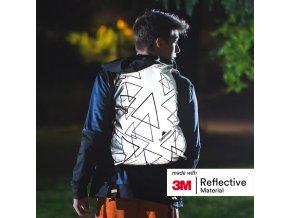 Reflexní 3M potah na batohy - celoreflexní