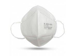 Respirační ochranná rouška/respirátor typu FFP2/KN-95