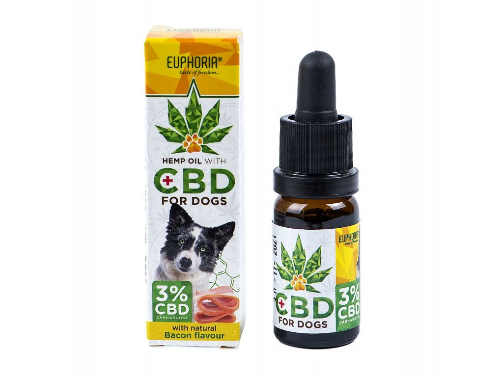 638 Euphoria CBD olej 3% 10ml pro psy